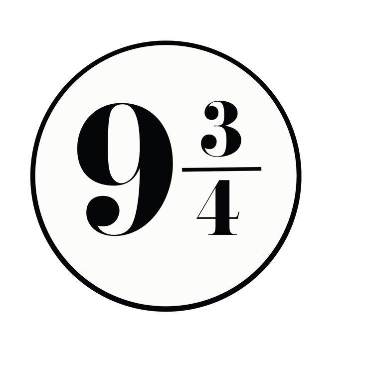 picture regarding Platform 9 3 4 Sign Printable titled system 9 3/4 indication printable - Google Appear harry potter