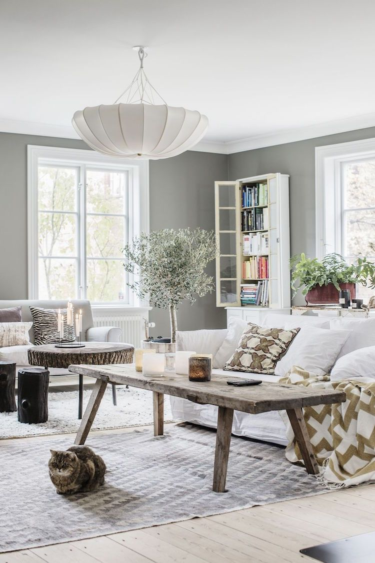 A Swedish Family Home In A Former Museum Living Room Scandinavian Scandinavian Home My Scandinavian Home
