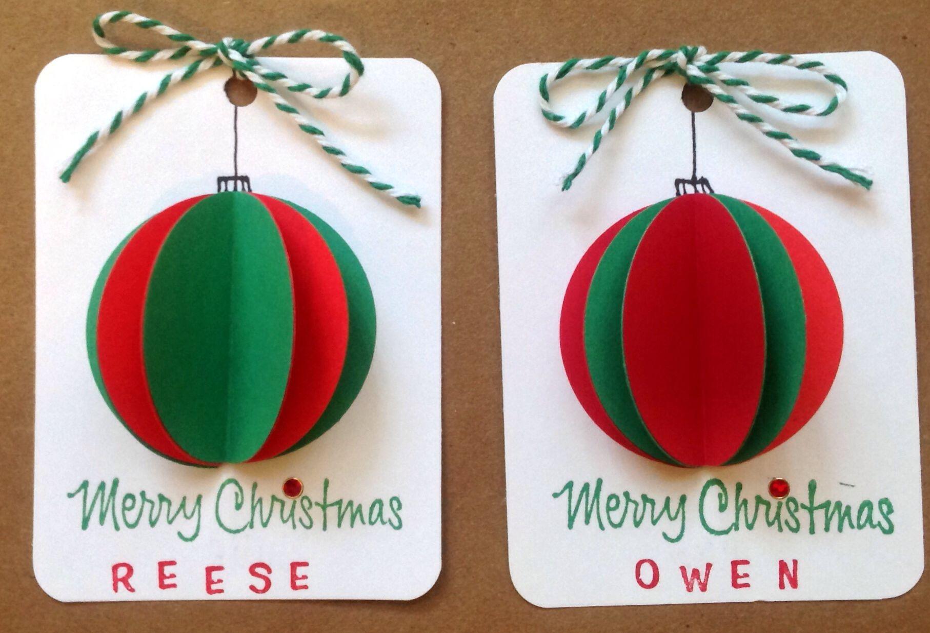 Christmas Tags Oooh I Even Have Teeny Alphas To Use Manualidades Felicitaciones Navidad Decoracion Navidad