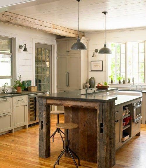 Dise o de interiores arquitectura 30 fabulosas ideas - Diseno de cocinas rusticas ...