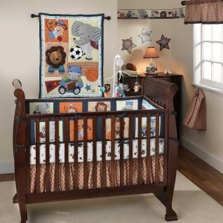 Love This One Animals And Sports Jungle Crib Bedding Baby Boy Nursery Themes Cribs