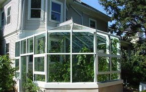Florian Greenhouse 1 800 Florian Sunrooms Greenhouses Greenhouse And Gardening Sunroom Garden Projects