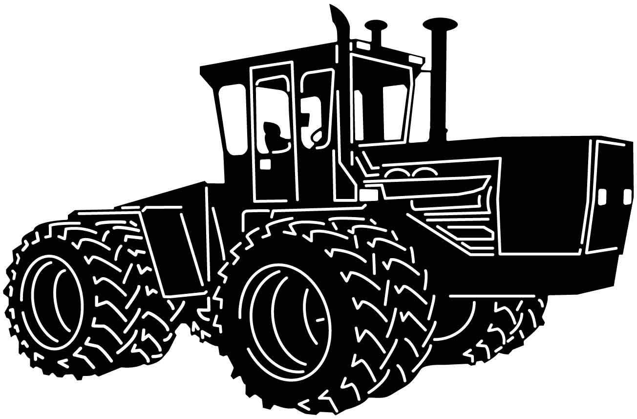 Tractor With Images Tractors Tractor Coloring Pages Wooden Spoon Crafts
