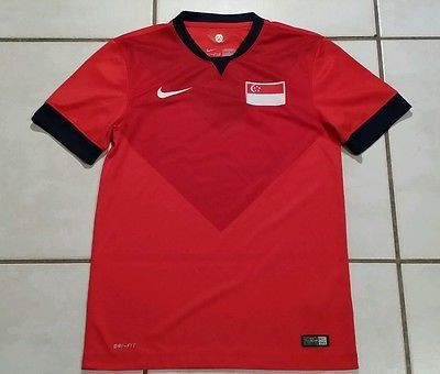 Nike Singapore National Team 2014 Soccer Jersey Men 39 S Small Soccer Jersey Men Jersey