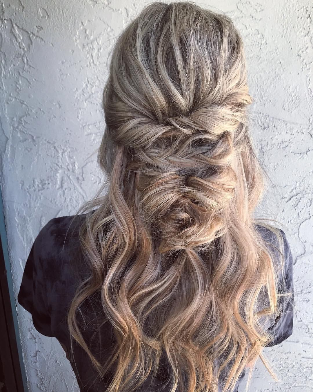 Pin by Maddie on ~ hairstyles ~   Cute wedding hairstyles, Hair styles, Wedding hairstyles