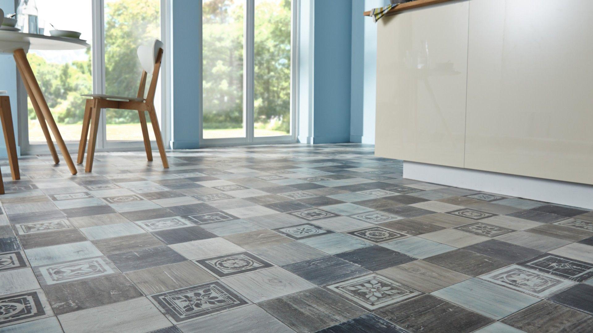 sol vinyle primetex fado imitation patchwork bois. Black Bedroom Furniture Sets. Home Design Ideas