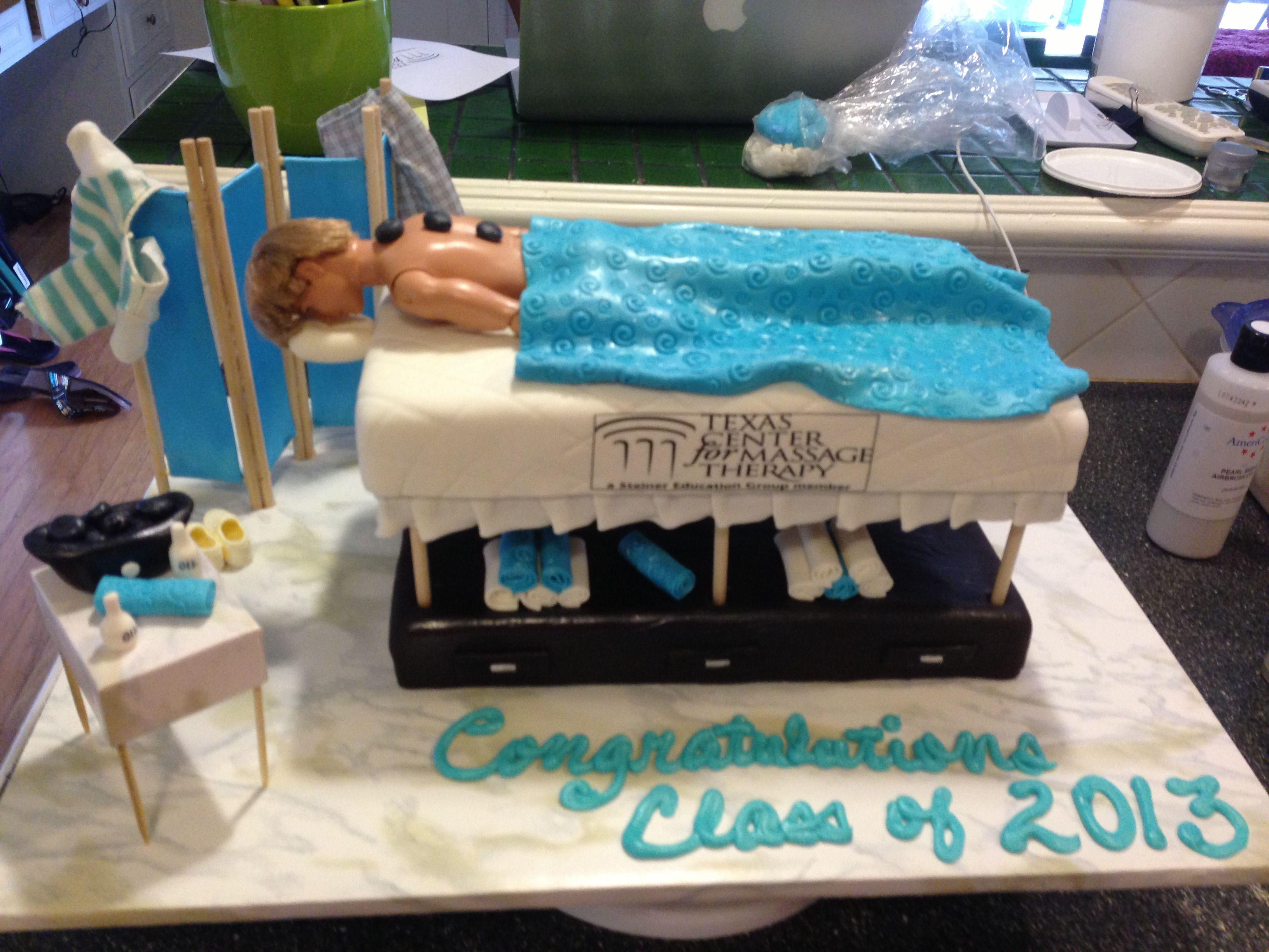 Birthday Cake Images And Massage : Massage Table Cake Cake s Makeup & Cosmetology ...