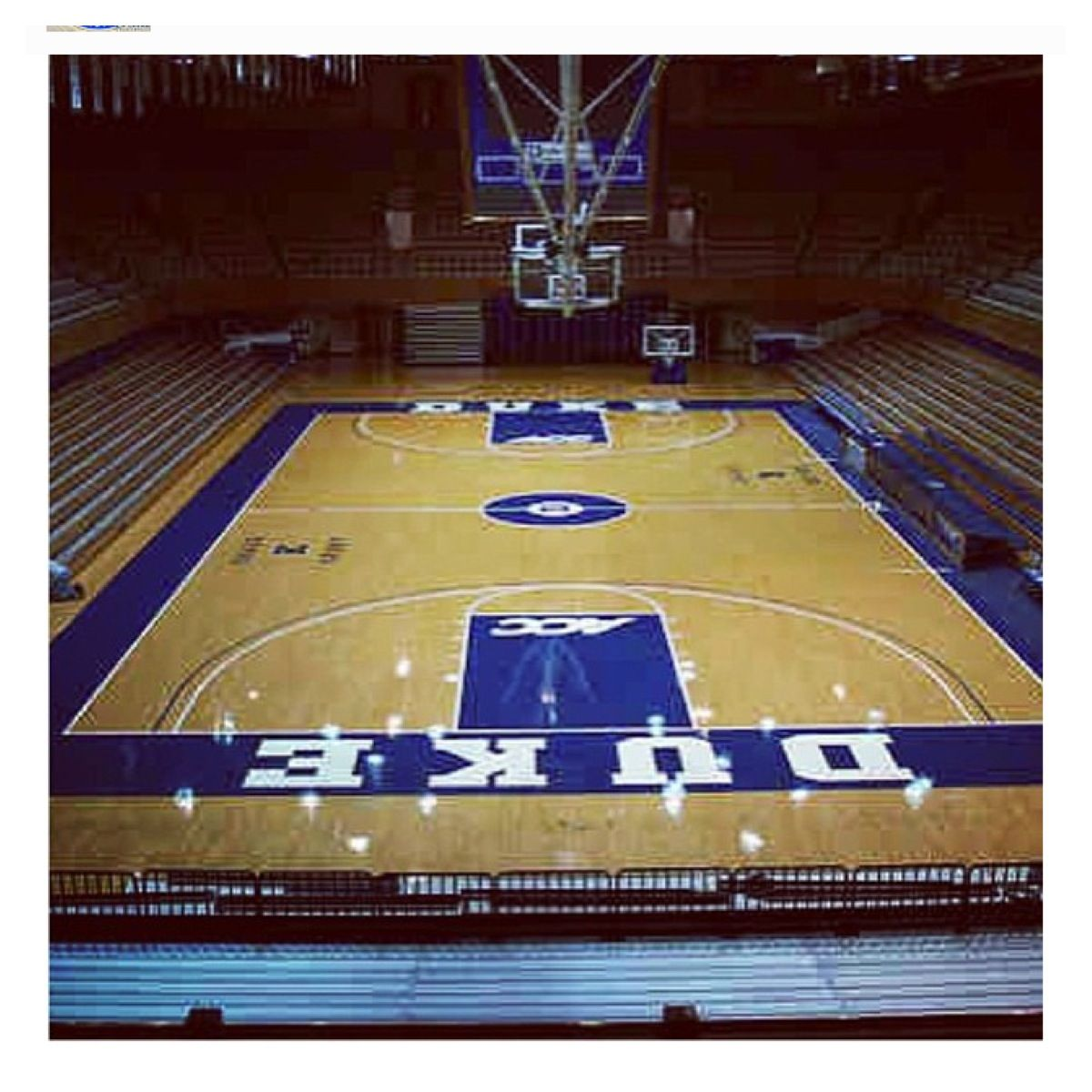 Its all finished court is ready for the 20132014 season