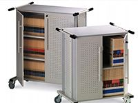 SOS - Filing and Storage - Laptop Carts 1  www.sosfurniture.ca  Toll Free: 1-855-767-8118