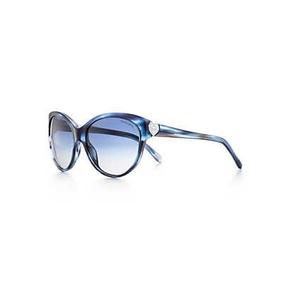 cbfef6dc0201 Tiffany Co. - Return to Tiffany™ cat eye sunglasses in acetate with Austrian  crystals.