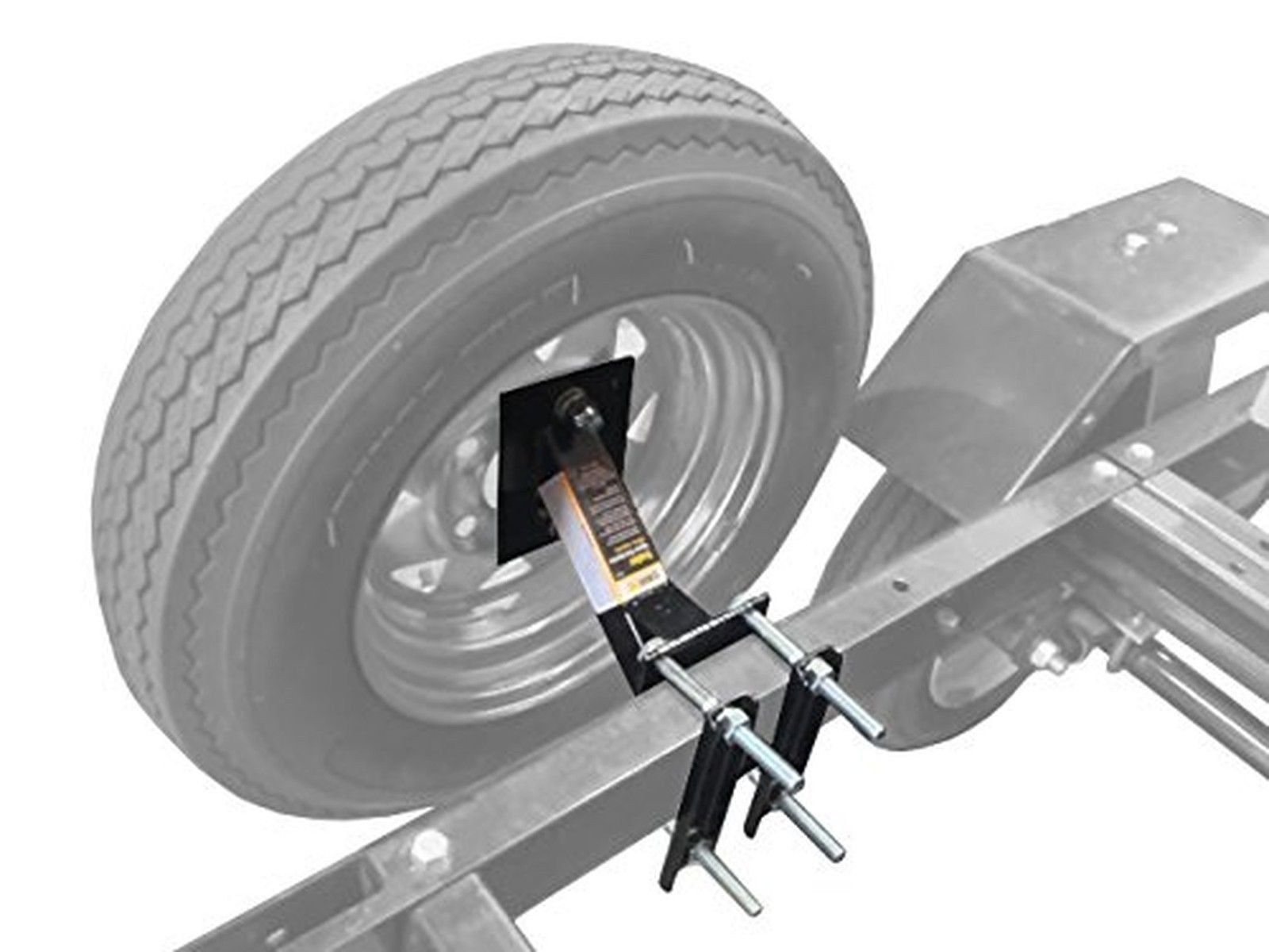 MaxxHaul 70214 Powder Coat Black Trailer Spare Tire
