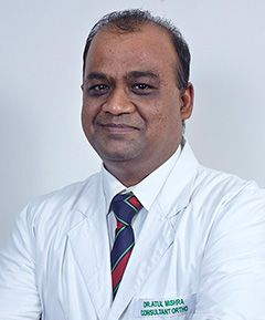 Dr Atul Mishra completed his MS orthopedics in year 2001