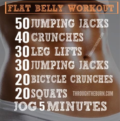 The Flat Tummy Workout