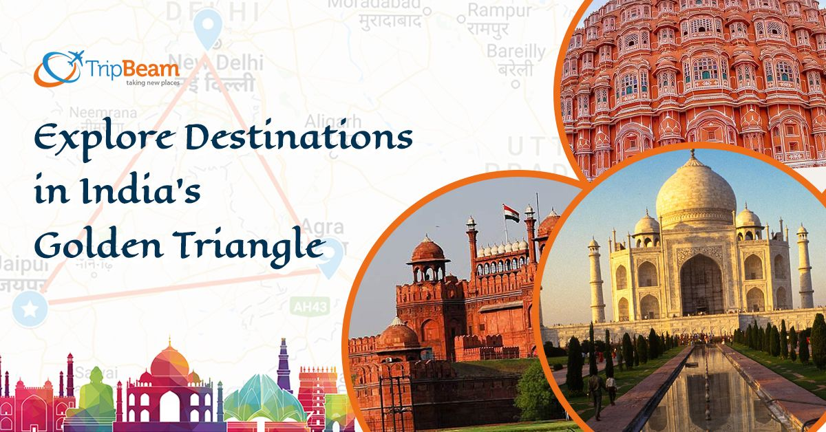 The destinations that come under the Golden Triangle are close to each other. These are culturally rich places, and a large number of tourists visit here all through the year.