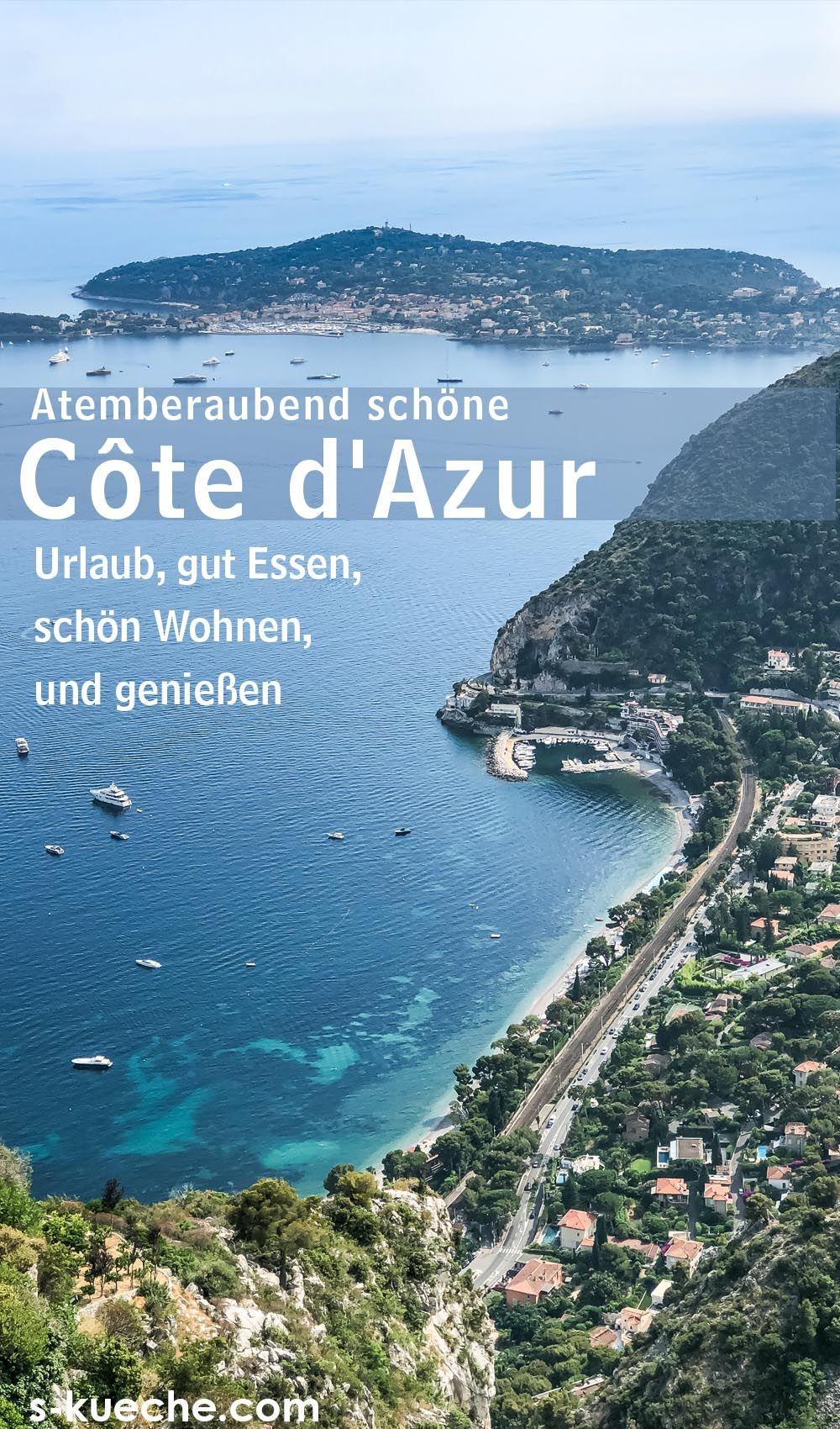 Sommer an der Côte dAzur - Urlaub, gut Essen, schön