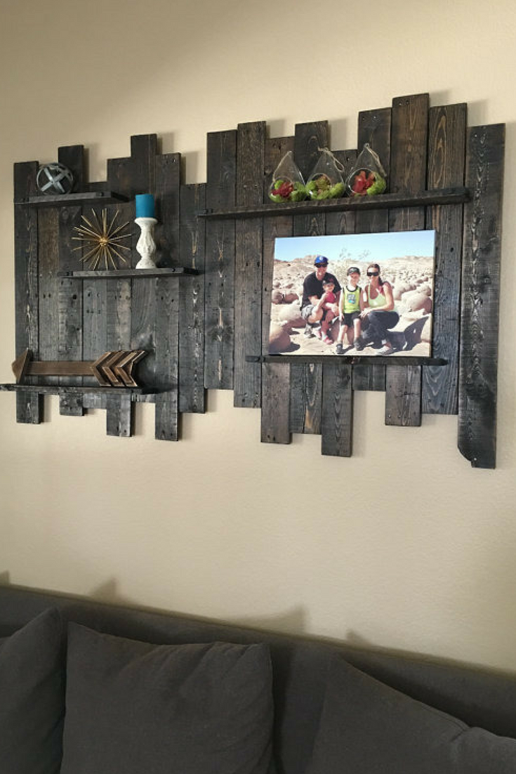 Reclaimed Wood Wall Shelf Reclaimed Wood Wall Decor Wood Shelf