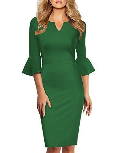Etui-Kleider von KoJooin in Grün für Damen # ...