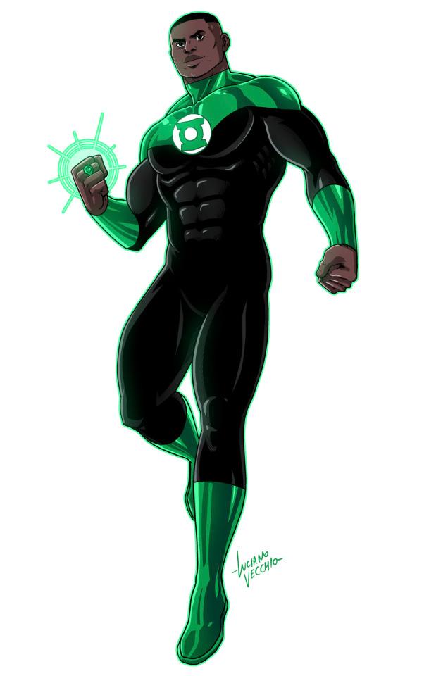 John Stewart Luciano Vecchio Green Lantern John Stewart Green Lantern John Stewart