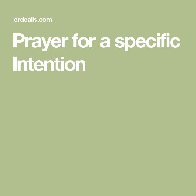 Prayer for a specific Intention | Faith | Prayers, St joseph