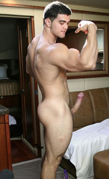 Big muscle dick