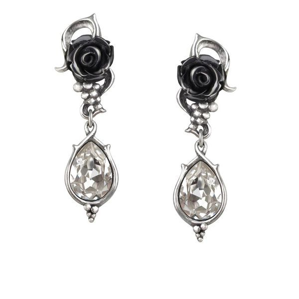 Alchemy Gothic Bacchanal Rose - earrings | Pahis.fi