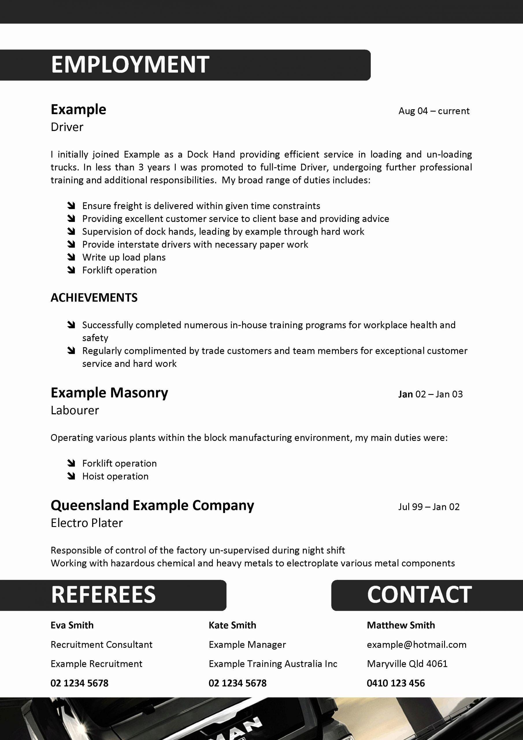 Uber Driver Job Description Resume Unique We Can Help with