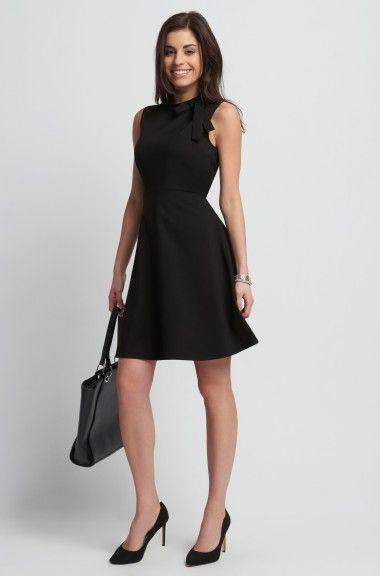 8c6bee6dc0 A-vonalú ruha masnis állógallérral | ORSAY | ruha | Fashion, Dresses ...
