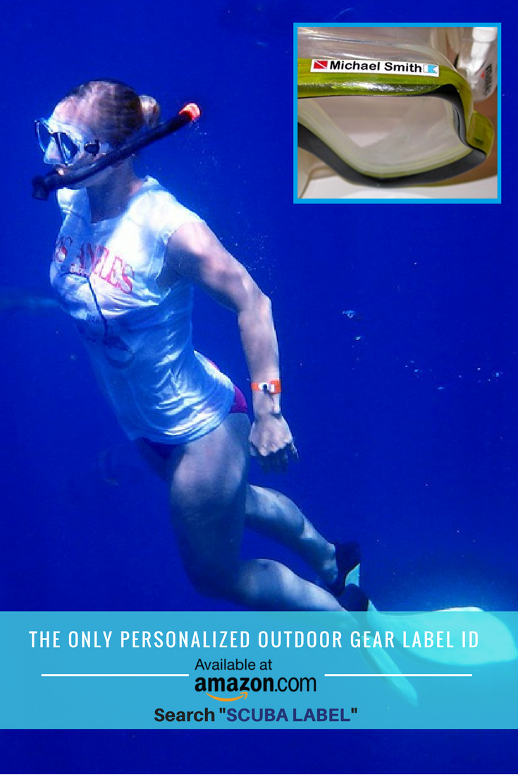 The ONLY Personalized Scuba Diving Decal Stickers on Amazon