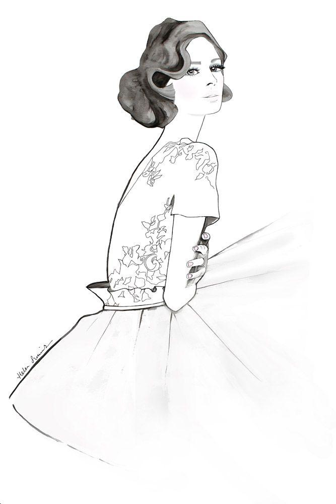 내 드레스 헬렌 심스 웹 사이트를 사랑