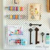 Photo of sewing room pegboard ideas – Bing images  sewing room pegboard ideas – Bing imag…