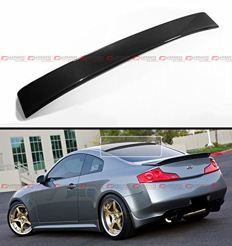 Fits 20032007 Infiniti G35 2 Door Coupe Jdm Real Carbon Fiber Rear Window Roof Top Spoiler Wing Read More At The Image Link Rear Window Infiniti Coupe