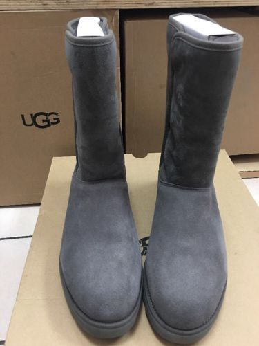 UGG Women's Boots Michelle Suede Slim Grey Size 10 1013462 MSRP ...