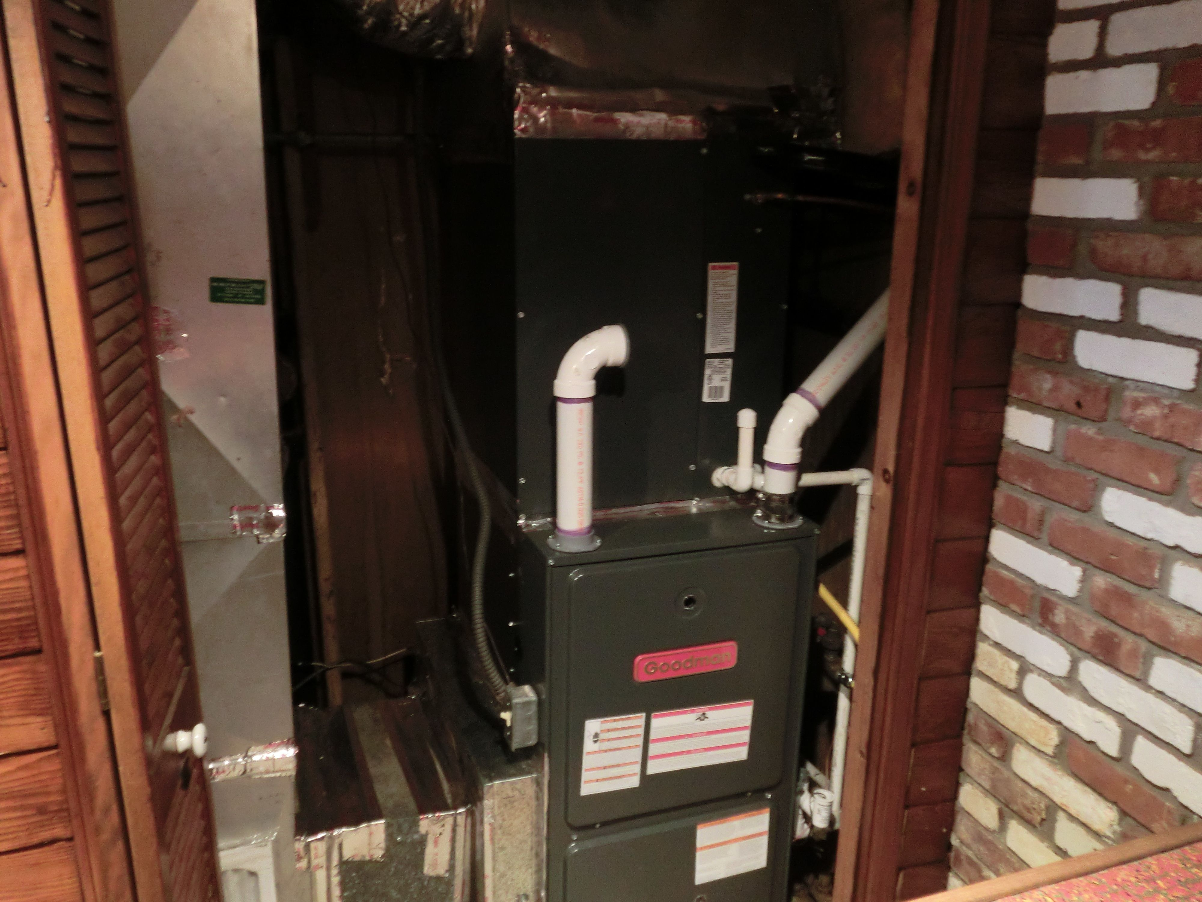 Goodman 96 1 Efficient Condensing Furnace Installed By Www