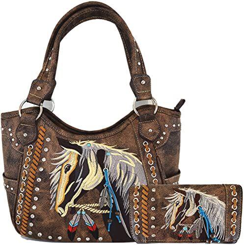 HUGS IDEA Mini Cross Body Bag Small Adjustable Lion Design Shoulder Handbag Cellphone Purse