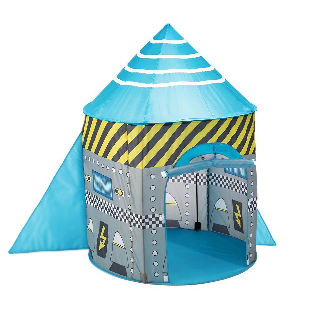 fun2give pop it up play tent space rocket multicolor space