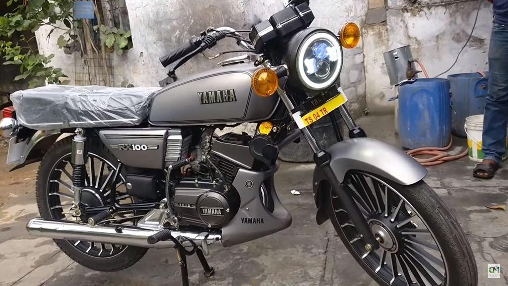 Yamaha Rx 100 Custom Cafe Racer Bangladesh