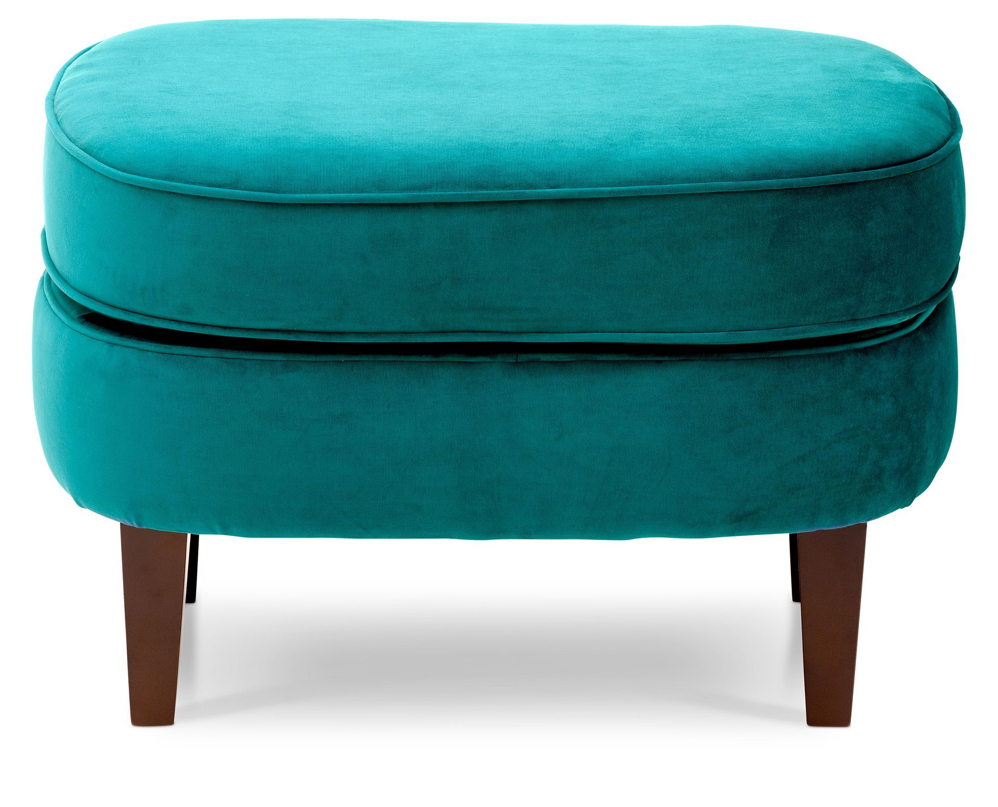 Chic And Modern The Gabriella Accent Ottoman Has A Tailored Look