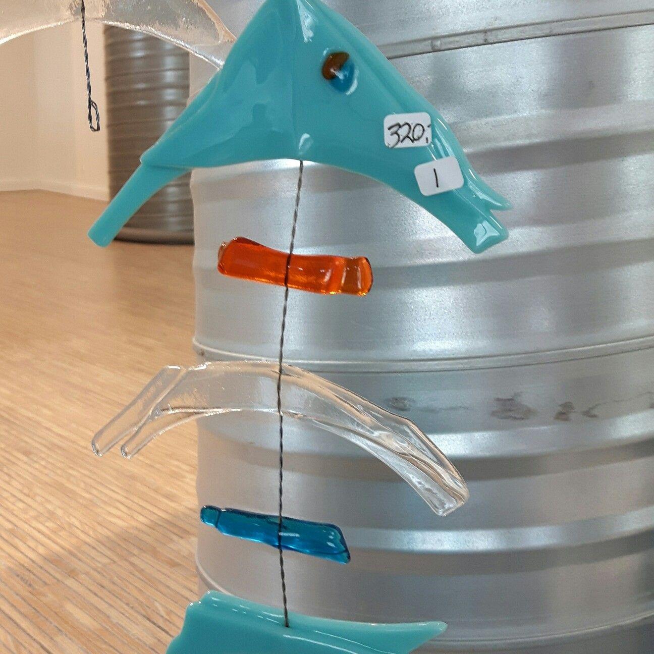 Glass art fish No 1