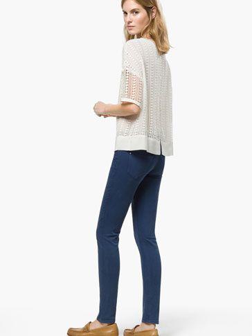 PANTALÓN RASO - Pantalones - WOMEN - España Massimo Dutti SS 2015