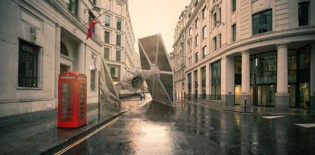 Star Wars | astronavi | atterrano | città del mondo