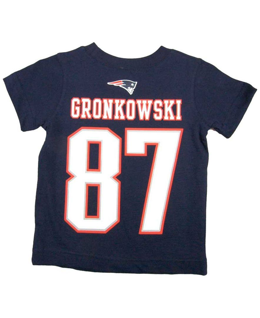 new arrival 855f9 7e527 Nike Boys' New England Patriots Rob Gronkowski T-Shirt ...