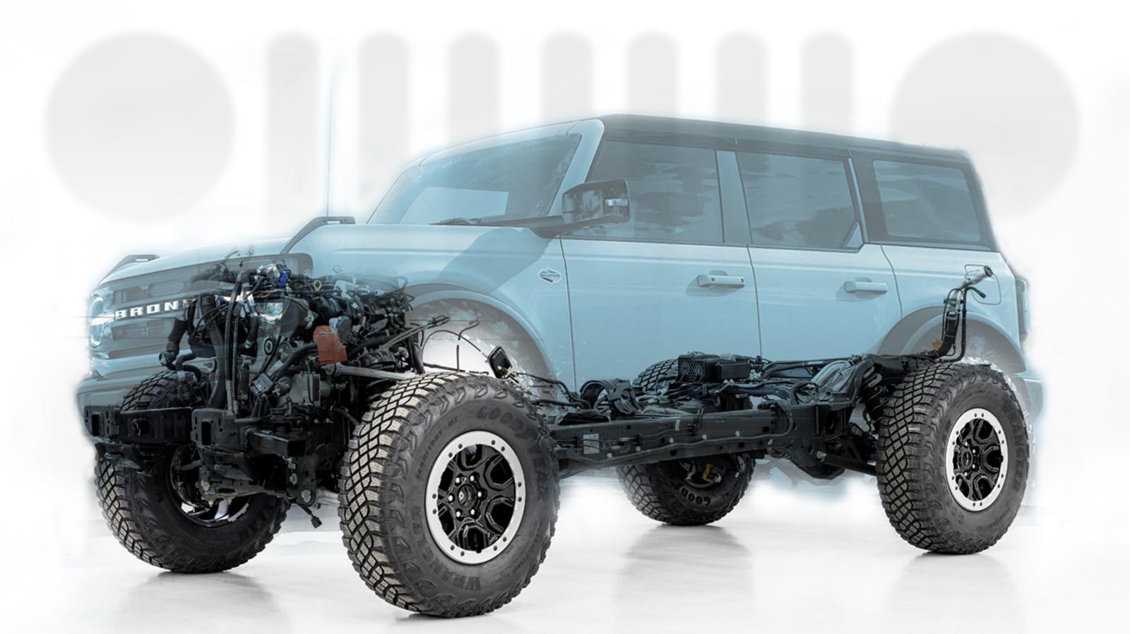 Ford Bronco Vs Jeep Wrangler The Ultimate Technical Deep Drive In 2020 Ford Bronco Jeep Wrangler New Bronco