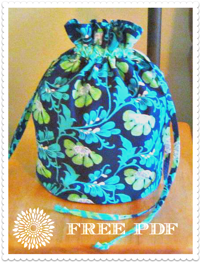 Drawstring FlatBottomed Bag Free Sewing Tutorial Sew Fun Enchanting Drawstring Bag Pattern