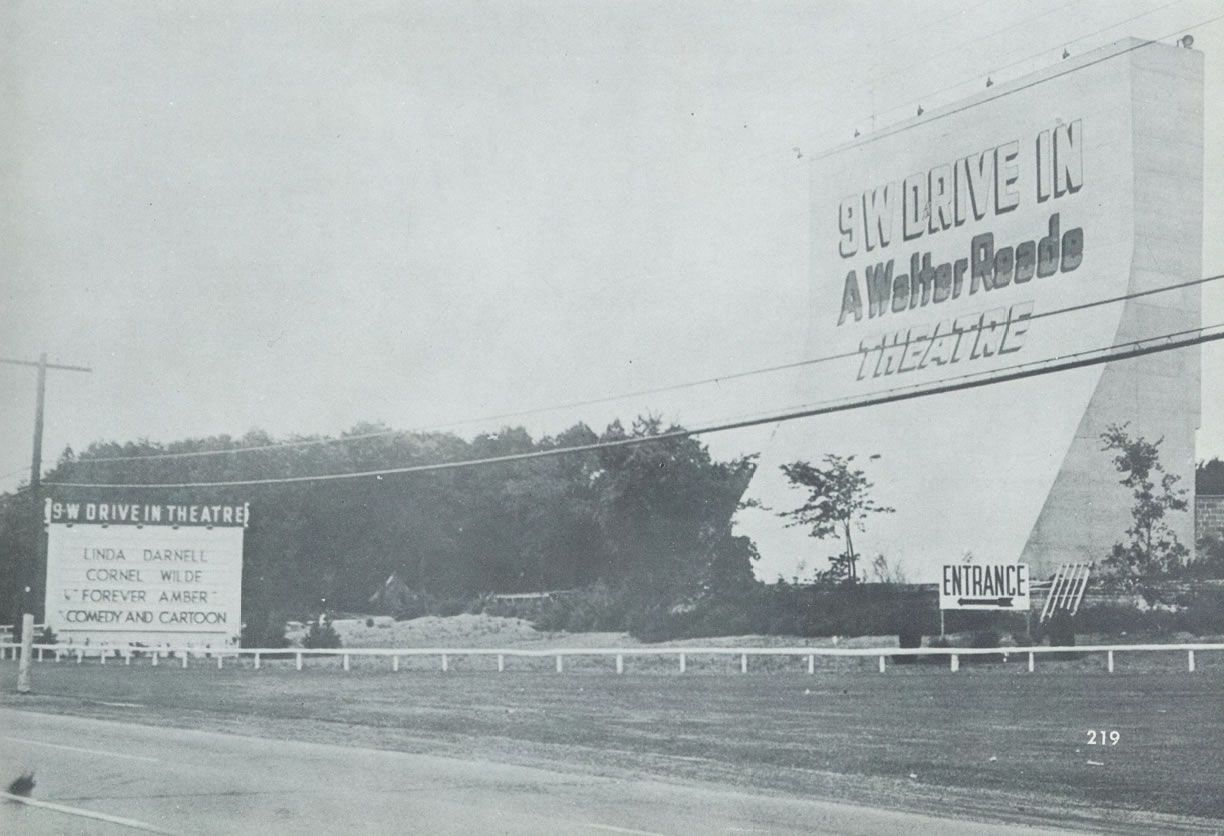 The old 9-W Drive in Kingston NY