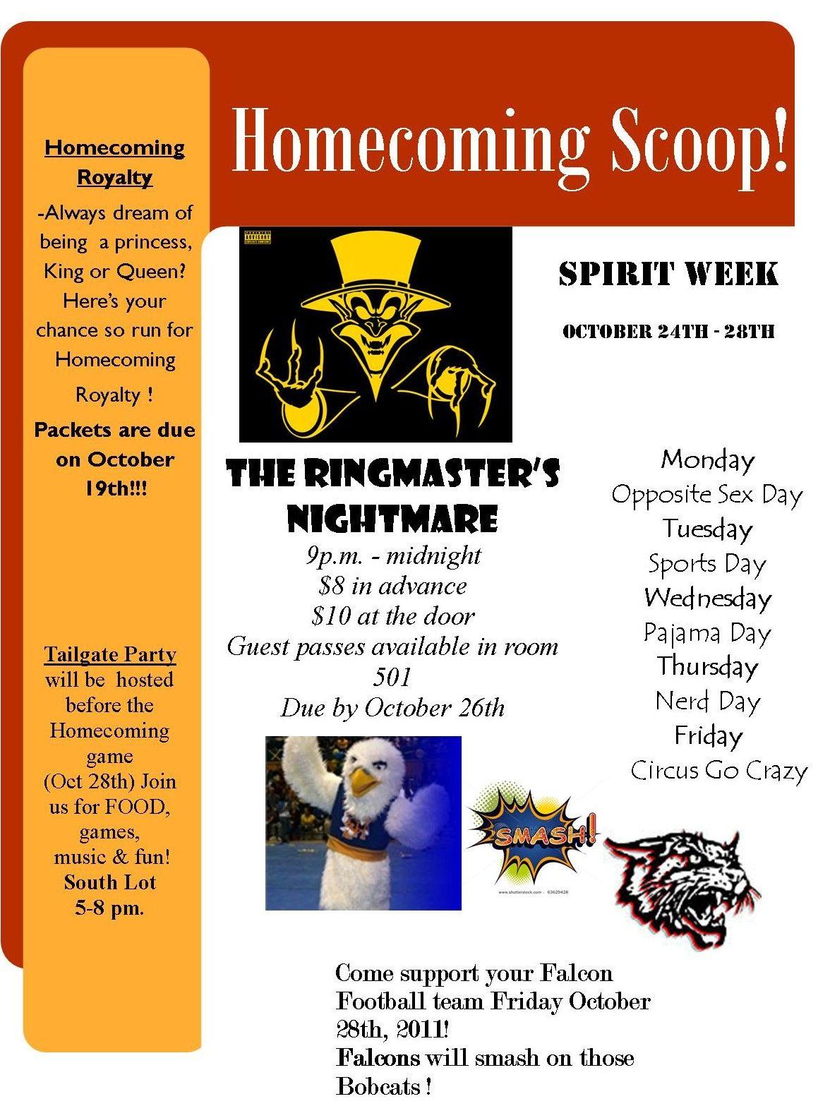Spirit Week Dress Days Student Council Ideas