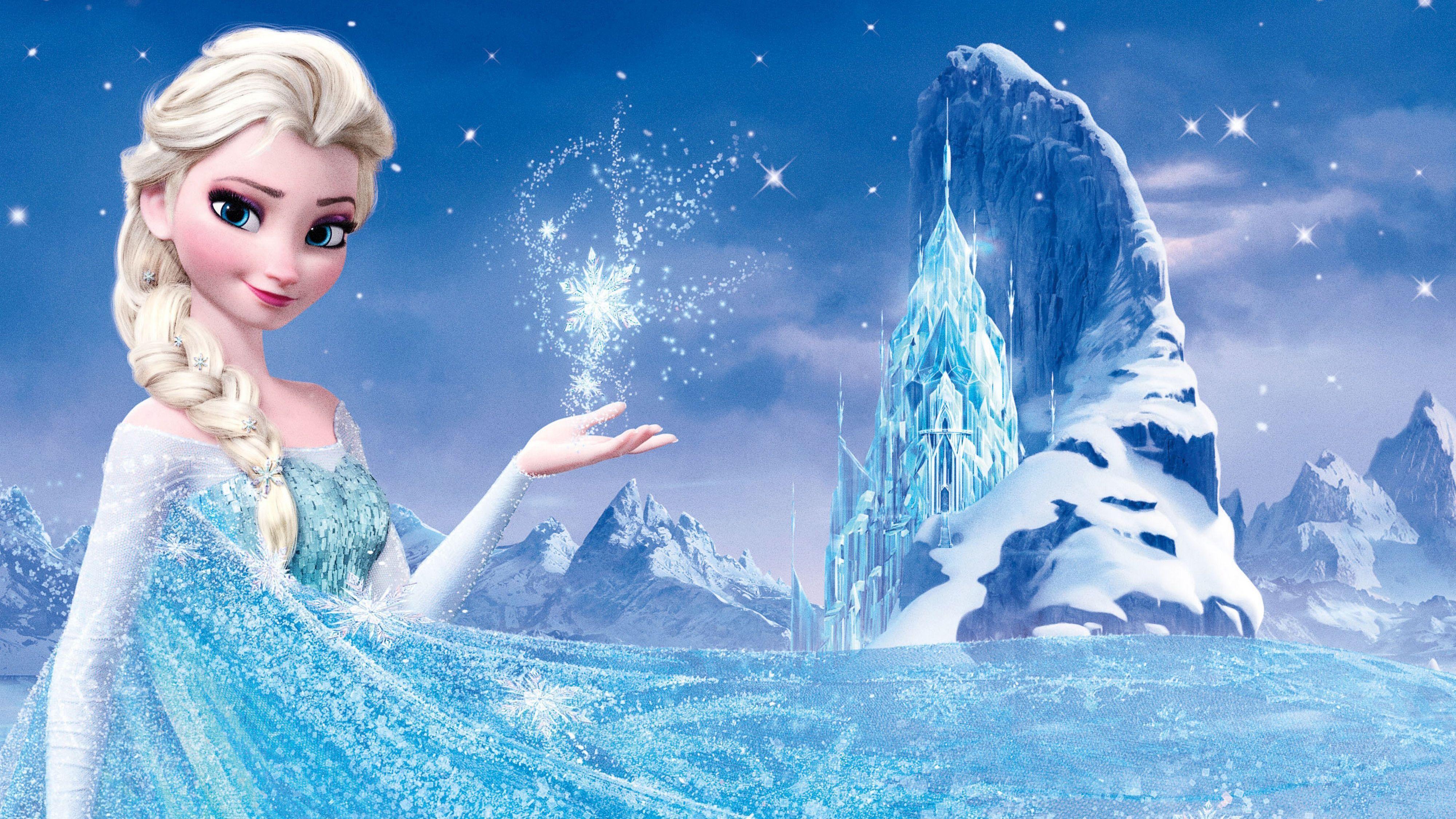 Elsa Wallpapers Top Free Elsa Backgrounds Wallpaperaccess Frozen Wallpaper Elsa Edible Cake Topper Elsa