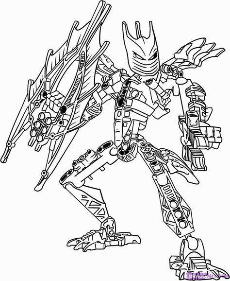 Bionicle Coloring Pages Värityskuvat Pinterest - new hulkbuster coloring pages