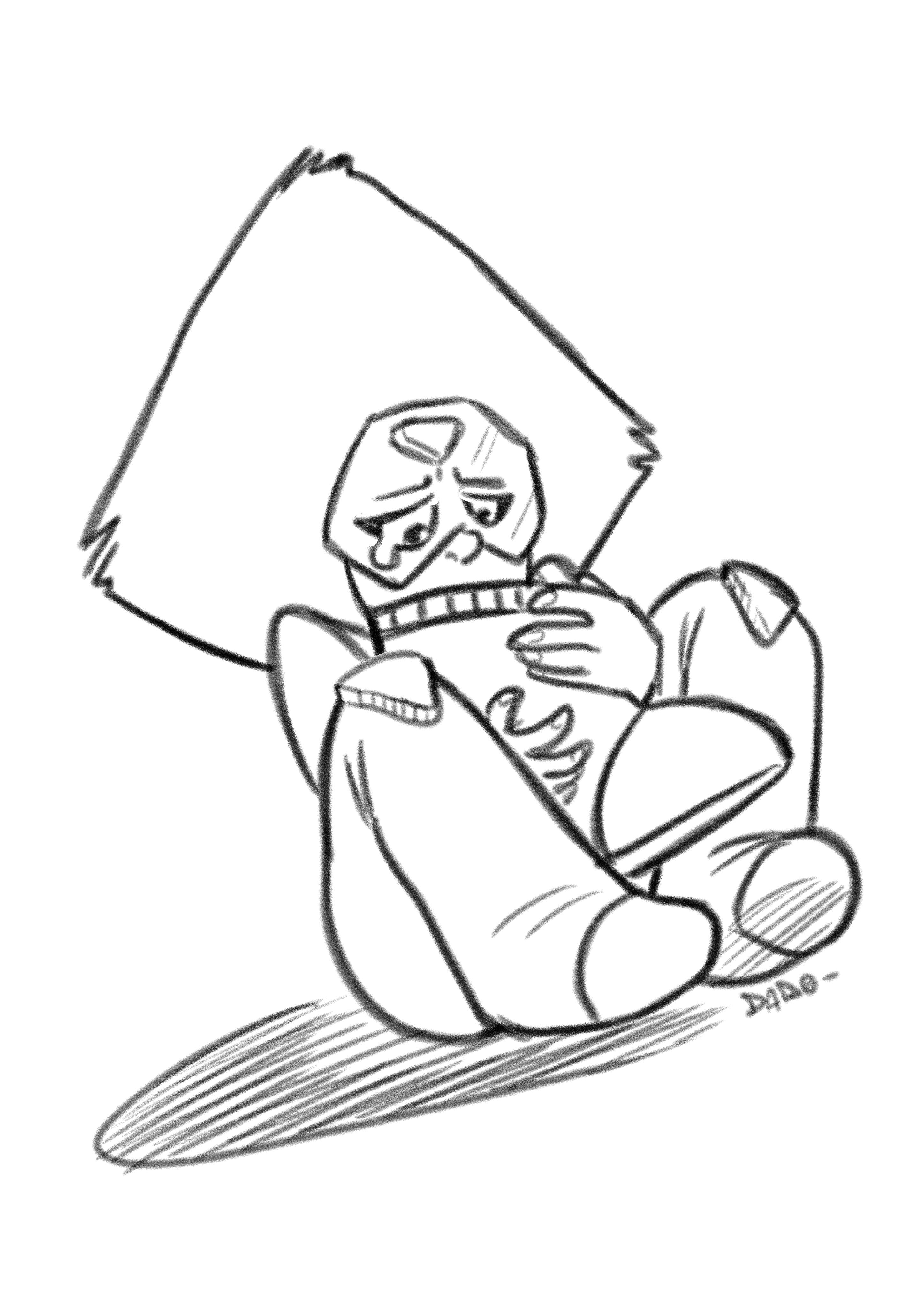 Poor Tiny Cute Peridot What They Ve Done To You Peridot Stevenuniverse Su Cute Shor Candy Coloring Pages Abstract Coloring Pages Unique Coloring Pages