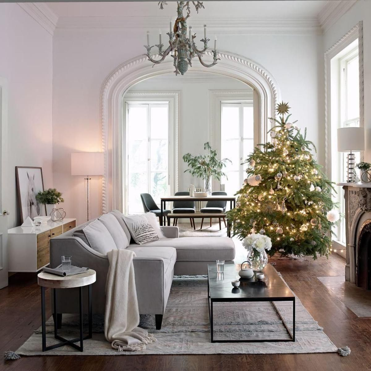 Home Decor Inspiration On Instagram How S The Christmas: Decorating: Living Spaces