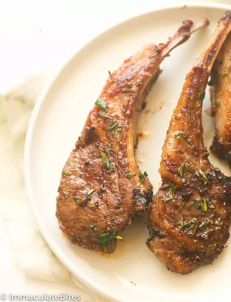 grilled lamb chops  recipe in 2020  grilled lamb chops